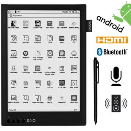 Onyx Boox Onyx Boox Max 2 Pro e-bralnik, 64 GB, Wi-Fi, črn