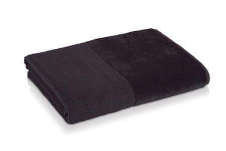 Möve Bambusova brisača 80x150 cm črna