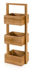 Möve Dřevěný přenosný stojan TEAK 30 x 22 x 81 cm