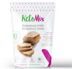 KetoMix KetoMix Proteinový bezlepkový chléb 10 porcí