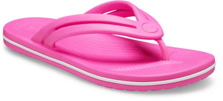 Crocs ženske japonke Crocband Flip W Electric Pink W8, 38-39