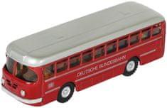 KOVAP Autobus Deutsche Bundesbahn kov 19cm červený v krabičke Kovap