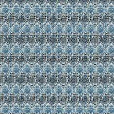 DEVON & DEVON Tapeta ARABESQ BLUE, kolekcia NINA FAHRRE