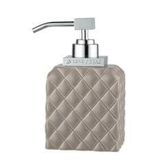 Lene Bjerre A PORTIA folyékony szappan adagolója világosbarna, ezüst díszítéssel