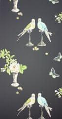 NINA CAMPBELL Tapeta PERROQUET 04 z kolekce PERROQUET