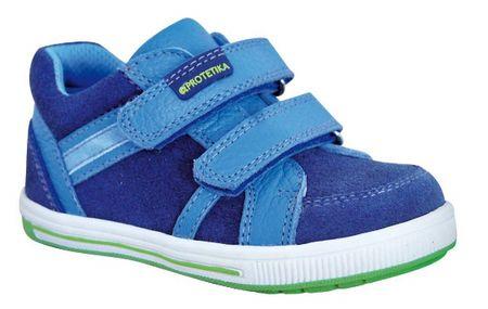 Protetika chlapčenská celoročná obuv TAKO 23 modrá