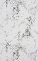 NINA CAMPBELL Tapeta BARBARY Toila 05 z kolekcie FONTIBRE