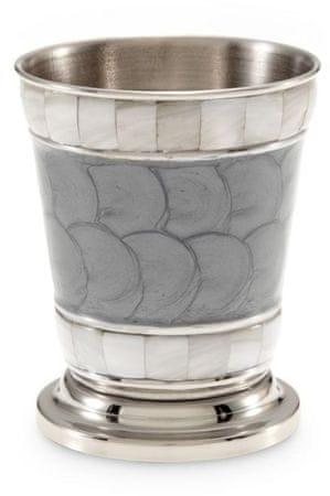 Julia Knight Ohišje zobnih ščetk CLASSIC, platinasto siva