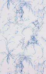 NINA CAMPBELL Tapeta BARBARY Toila 03 z kolekcie FONTIBRE