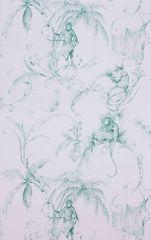 NINA CAMPBELL Tapeta BARBARY Toila 02 z kolekcie FONTIBRE