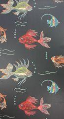 NINA CAMPBELL Tapeta AQUARIUM 01 z kolekcie Perroquet