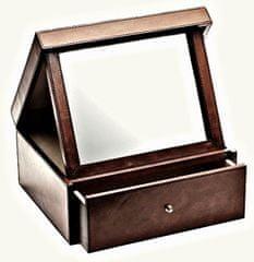 Balmuir Luxusní kožená šperkovnice ELIZABETH M, dark brown