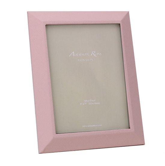 Adisson Ross Růžový rámeček na fotografie Faux 13 x 18 cm