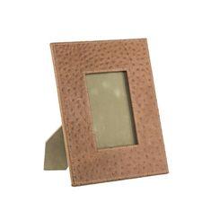 Balmuir Kožený rámik na fotografie v dizajne pštrosie kože LANCASTER M