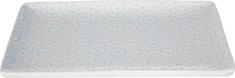 Lene Bjerre Taca ceramiczna ABELLA, niebieska