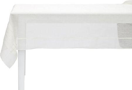 Lene Bjerre Obrus lniany LINEA, kremowy, 160 x 240 cm
