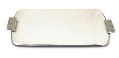 Julia Knight Obdélníkový tác ELIPSE s úchyty, smetanový 30 x 53 cm
