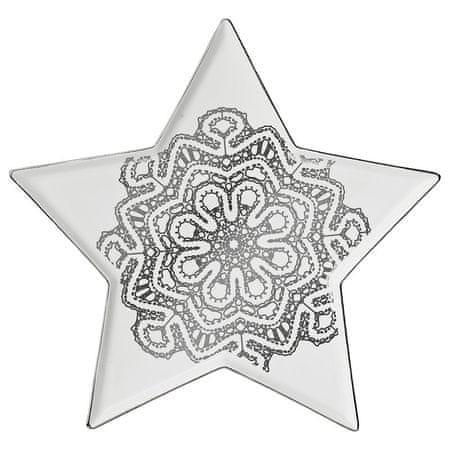 Lene Bjerre Tálaló tálca NORDIC, csillag 31 cm
