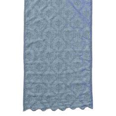 Lene Bjerre Běhoun na stůl COLLEEN modrý 50 x 140 cm
