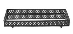 Lene Bjerre Blaszana blacha BETHELDA czarna 41 x 19 cm