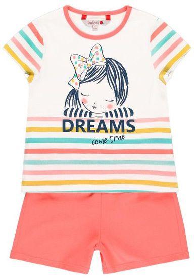 Boboli dívčí pyžamo 128 vícebarevná