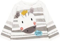Boboli detské tričko s dlhým rukávom zebra
