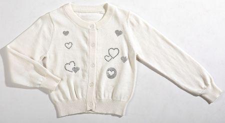 Topo sweter dziewczęcy 140 beżowy