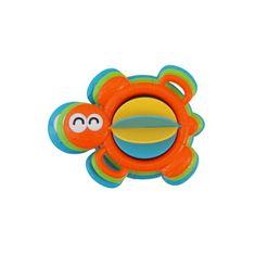 Baby Mix Edukačná hračka do kúpeľa Baby Mix želvička Oranžová