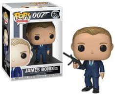 Funko POP! James Bond figura, James Bond (The Quantum of Solace) #688