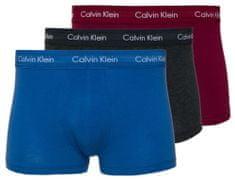 Calvin Klein moške boksarice U2664GU2664G U2664G Low Rise Trunk 3PK, trojno pakiranje