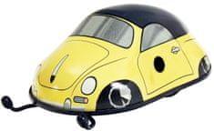 KOVAP Porsche 356 Cabrio žlté na kľúčik, kov 11 cm, v krabičke Kovap
