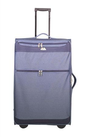 Advance, potovalni kovček ABS. vel. L, 71,1 cm, modro-siv