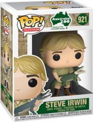 Funko POP! Crocodile Hunter figura, Steve Irwin w/Crocodile #921