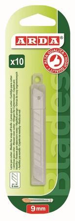 Arda rezila za tapetni nož, 9 mm, BL.1 / 1 (262LAM)