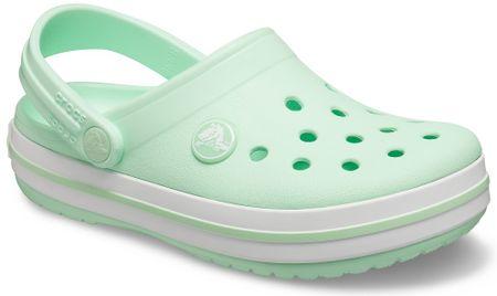 Crocs Crocband Clog K natikače za djevojčice Neo Mint 204537-3TI, J3 34-35, svijetlo zelena