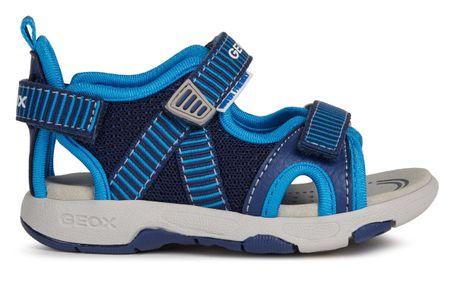 Geox sandały chłopięce MULTY B020FB_01415_C4231, 22 ciemnoniebieskie