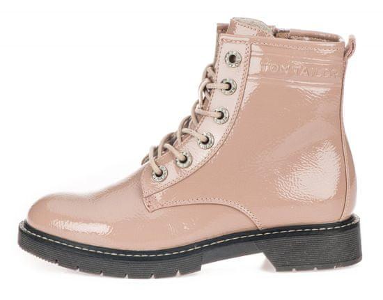 Tom Tailor dámská kotníčková obuv 7992801 41 růžová