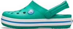 Crocs Crocband Clog K dječje papuče Deep Green/Prep Blue 204537-3TV
