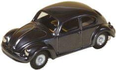 KOVAP Auto VW chrobák, kov 11 cm, tmavosivé v krabičke Kovap