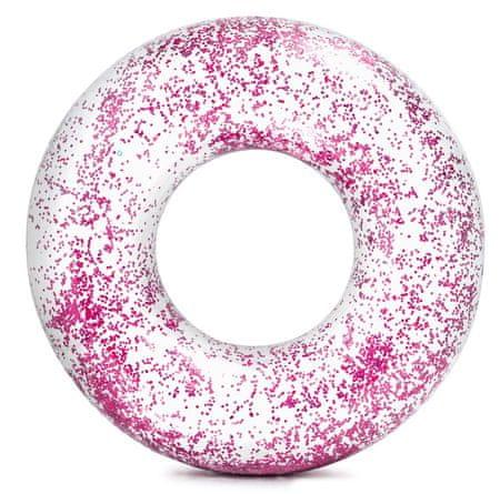 Intex koło do pływania 56274, różowe cekiny