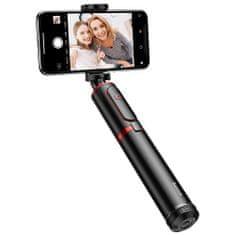 BASEUS SelfieSTAR PRO selfie štap, sklopiv, crno-crvena