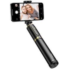 BASEUS SelfieSTAR PRO selfie štap, sklopiv, crno-zlatna