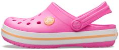 Crocs Crocband Clog K dječje papuče Electric Pink/Cantaloupe 204537-6QZ