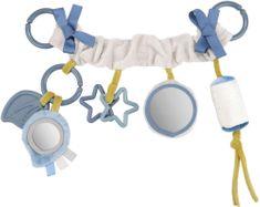 Canpol babies Závesná hračka na kočík/autosedačku Pastel Friends sivá