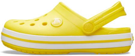 Crocs Crocband Clog K dječje papuče Lemon 204537-7C1-C11, 28-29, žute