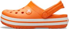 Crocs Crocband Clog K Orange 204537-810 otroški natikači