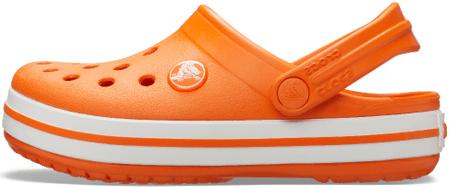 Crocs Crocband Clog K Orange 204537-810-C9 dječje papuče, narančaste, 25-26