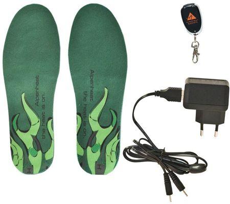 Alpenheat WirelessHotSole vložki za čevlje, brezžični, S/M (35–40)