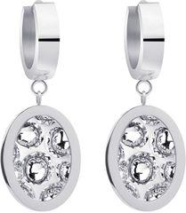 Preciosa Acél fülbevalók csillogó kristályokkal Idared 7362 00
