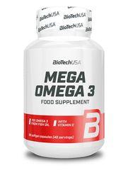BioTech USA Mega Omega 3 90kapslí